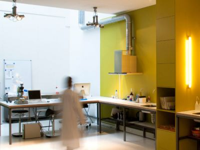 Interieur voor een laboratorium Innovative Fresh
