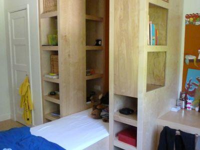 Kinderbed in een kleine ruimte