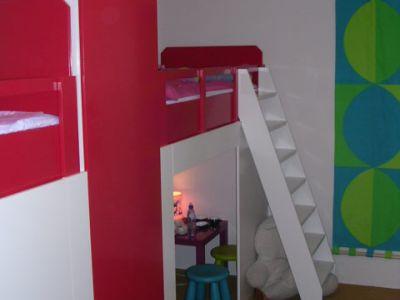 Kinderkamer in Amsterdam in een kleine ruimte
