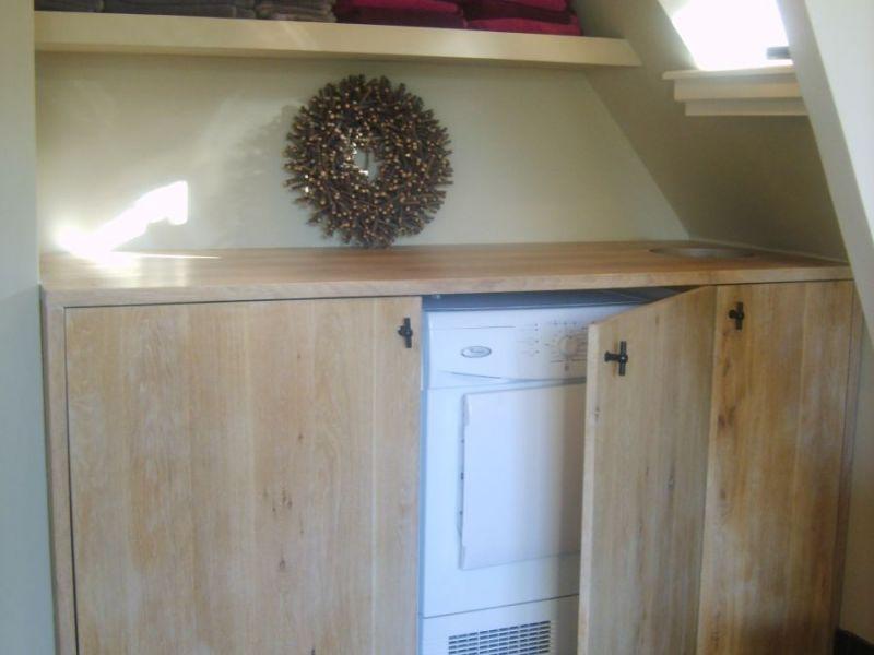 Wasmachine Kast Badkamer : Wasmachine wegwerken in badkamer finest badkamer afvoer wegwerken