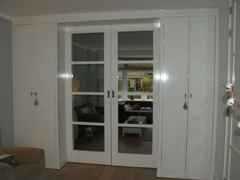 Kamer en suite - Glaskeuken scheiding ...